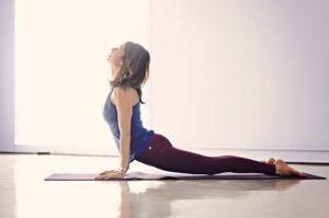 Yoga pose cobra